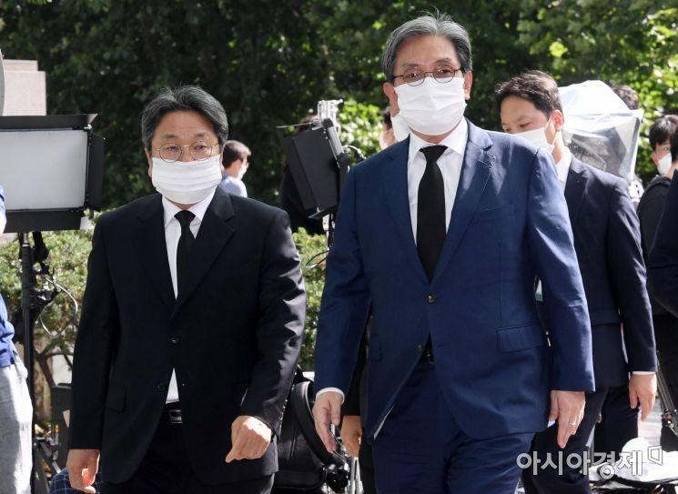 [포토] 박원순 시장 빈소 조문하는 노영민-강기정