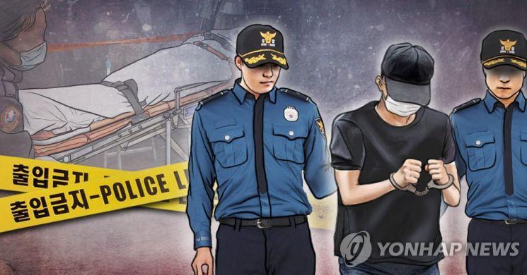 충남 당진경찰서는 10일 여자친구와 그 언니까지 자매를 차례로 살해한 혐의(강도살인)로 A(33)씨를 검찰에 송치했다고 밝혔다. [이미지출처=연합뉴스]