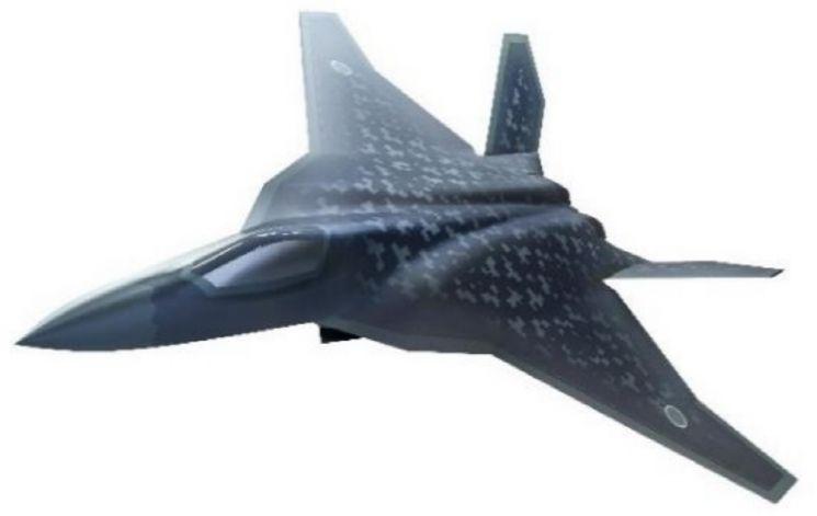 일본의 차기전투기 'F-3'가칭 F-3로 알려진 일본의 차기전투기 사진=일본 방위성