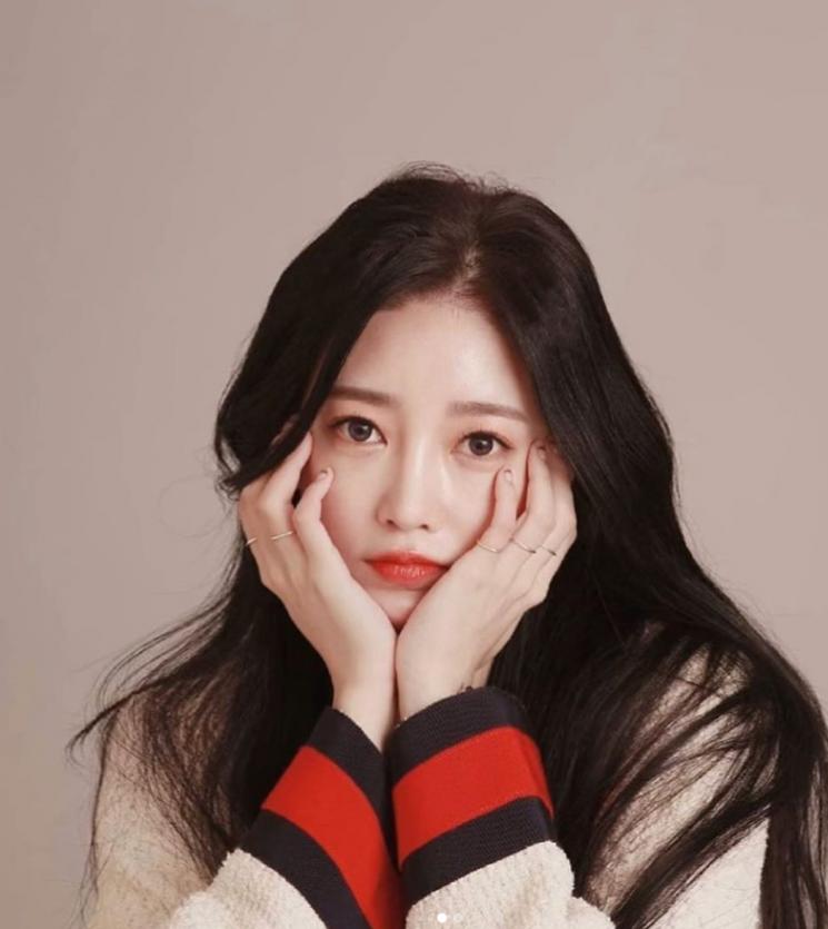 티아라 출신 소연. 사진=소연 SNS