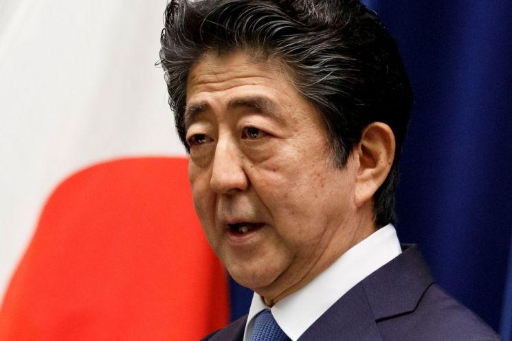 아베 신조 일본 총리 [이미지출처=로이터연합뉴스]