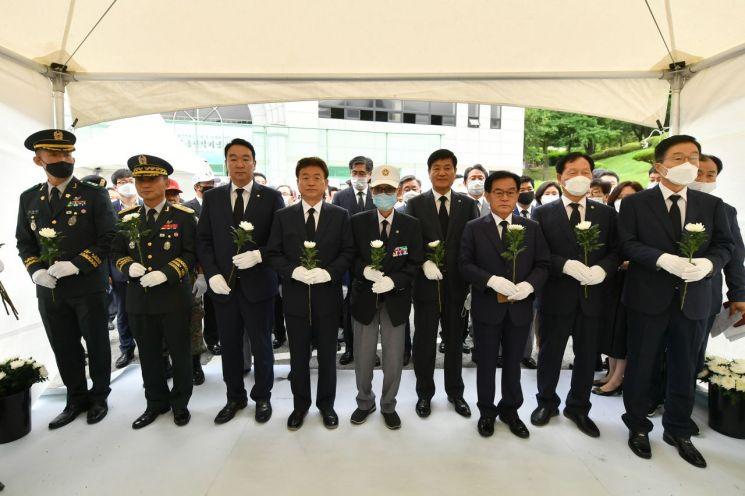 경북도, '백선엽 장군 조문' 칠곡·왜관 기념관 2곳에 분향소