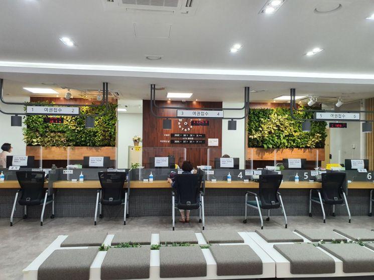서초구 여권민원실 '그린힐링오피스' 조성