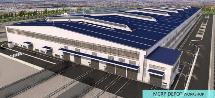 포스코건설, 3억 달러 규모 필리핀 남북철도 차량기지 건설공사 수주