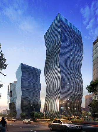 제일기획이 4개층을 임차해 사용 중인 서울 강남역 GT타워.