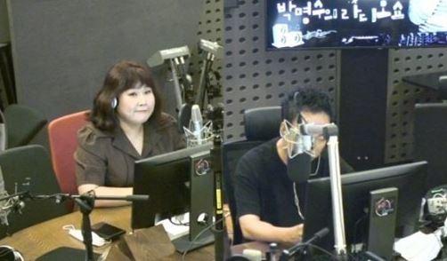 13일 방송된 KBS 쿨FM '박명수의 라디오쇼'에서는 개그우먼 김민경이 출연했다. 사진=KBS 쿨FM '박명수의 라디오쇼'방송 캡처