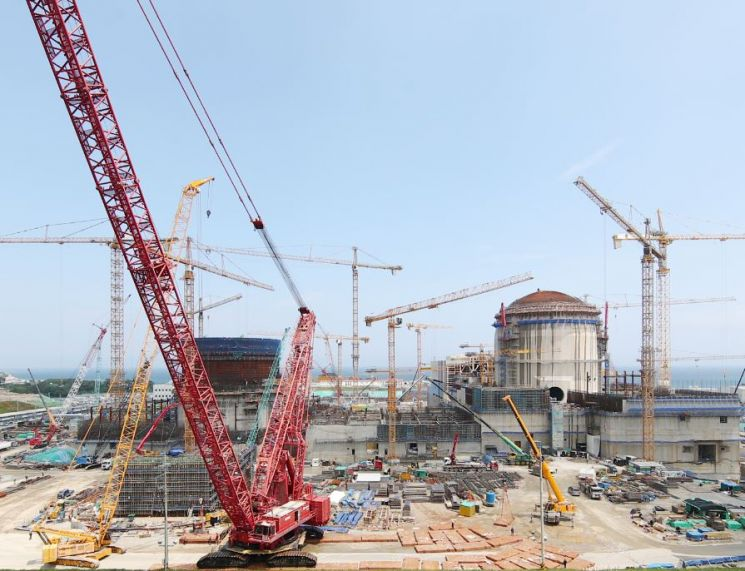 울산 신고리원전 5,6호기 건설현장. 공개모집을 통해 시민참관단이 투입된다.