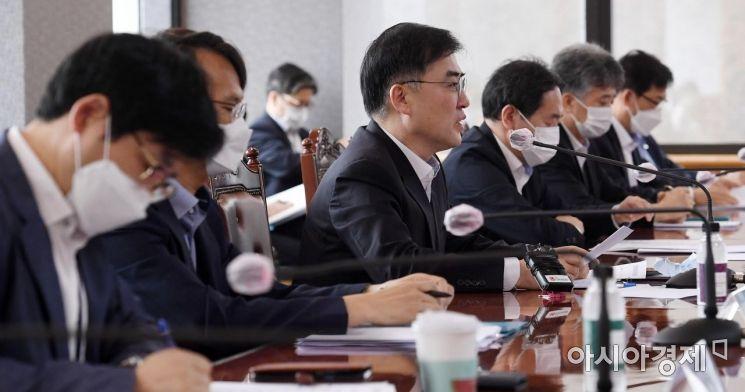 [포토] 모두 발언하는 손병두 부위원장