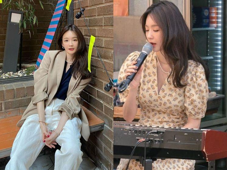 진주 목걸이, 트렌디하게 매치하는 법! (feat.강민경)