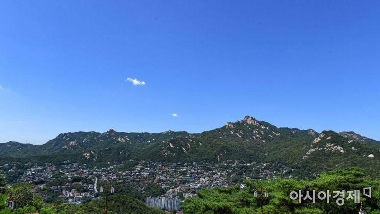 [포토]파란하늘 펼쳐진 서울