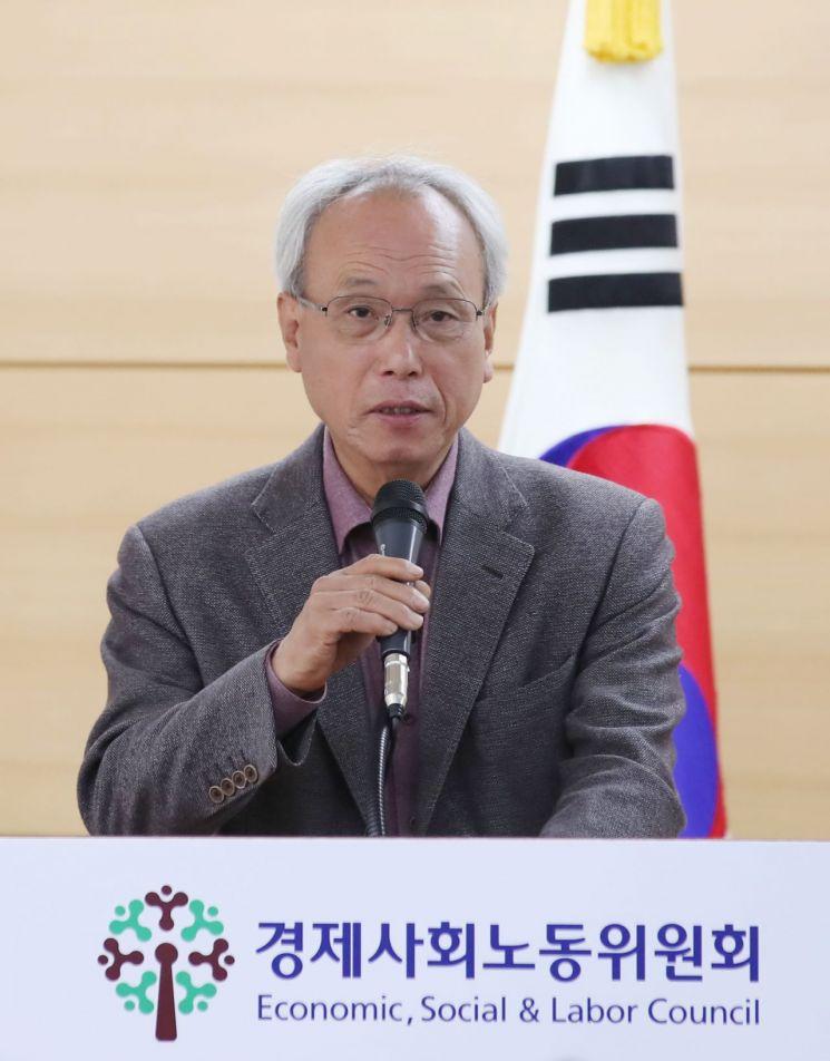 문성현 경사노위 위원장 사진=연합뉴스