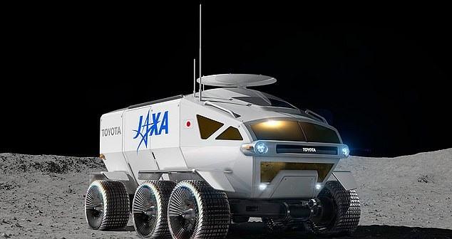 일본 우주항공연구개발기구(JAXA)와 자동차 회사 토요타가 공동 개발하고 있는 달 탐사용 6륜 차량. / 사진=JAXA