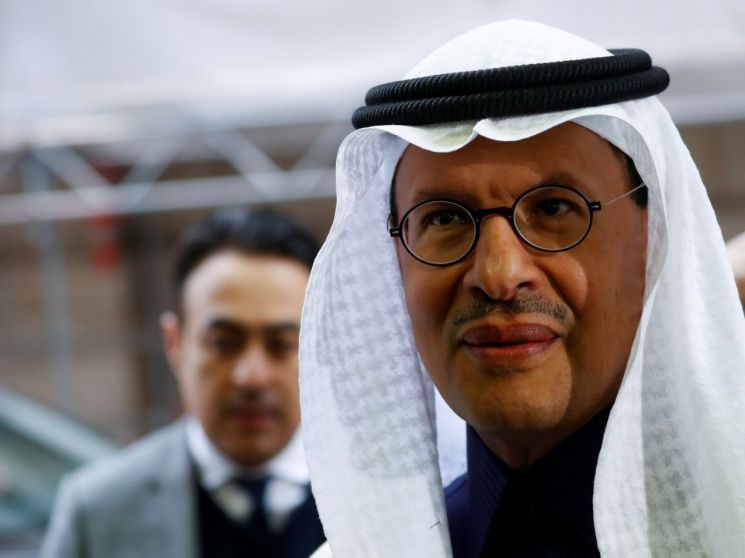 압둘아지즈 빈 살만 사우디 에너지 장관 [이미지출처=로이터연합뉴스]