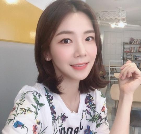 박지희 아나운서.사진=박지희 인스타그램
