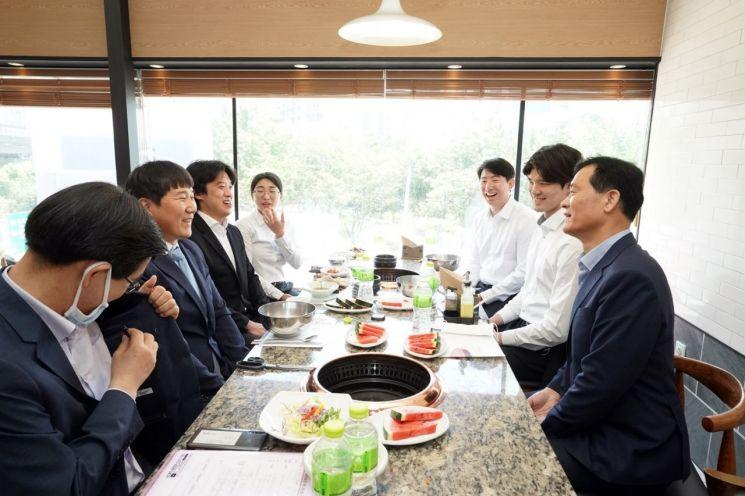 성북구 검도팀과 간담회
