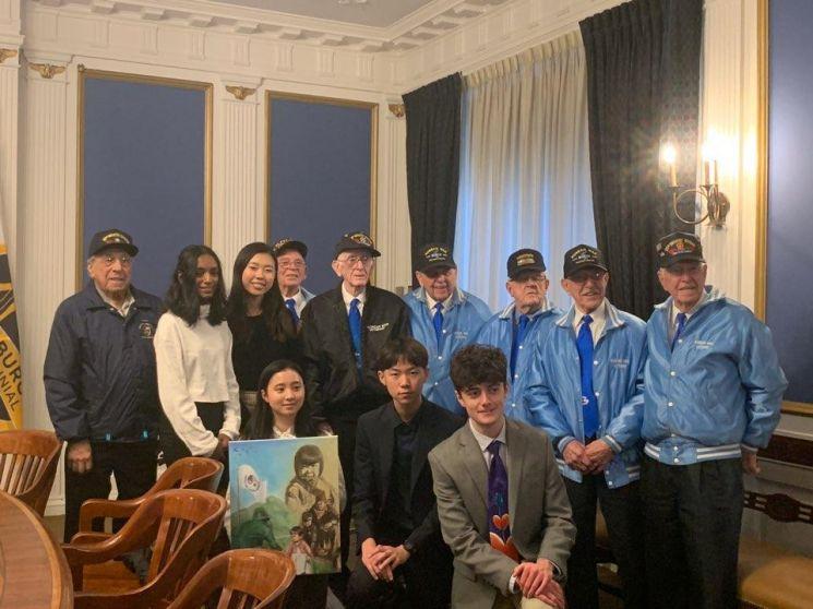 한국전 참전공원에서 봉사한 미국 10대에 포상