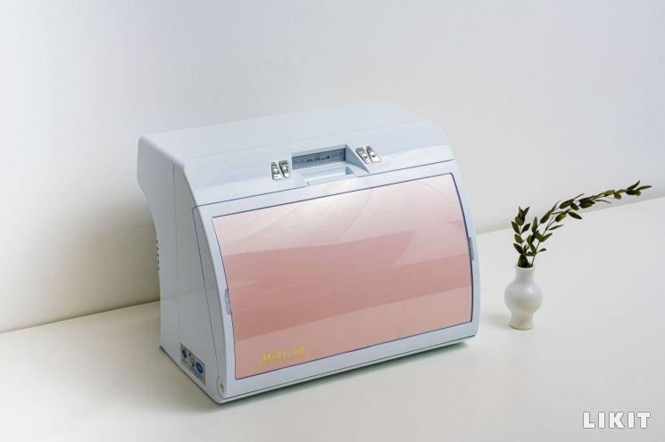 미쉘 화장품냉장고 9L, 핑크