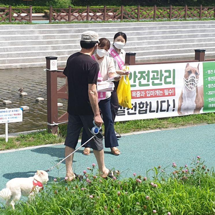 은평구, 성숙한 반려동물 문화 조성 홍보캠페인
