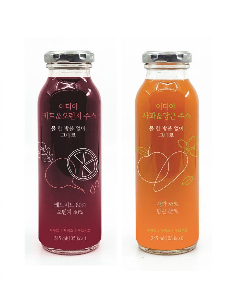 '카페서 즐기는 자연의 맛'…'커피' 말고 '건강 주스' 담은 병음료 출시 봇물