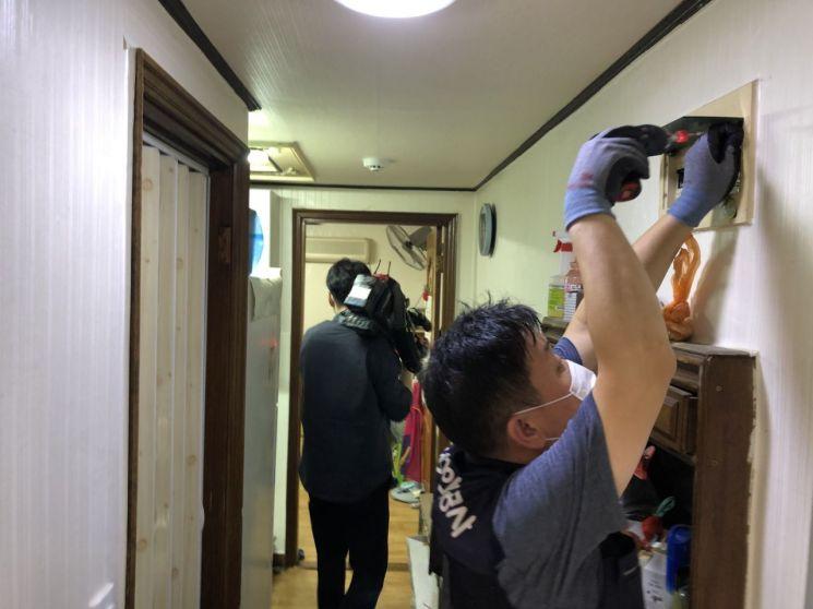 강북구, 안전취약가구 생활시설 점검·정비
