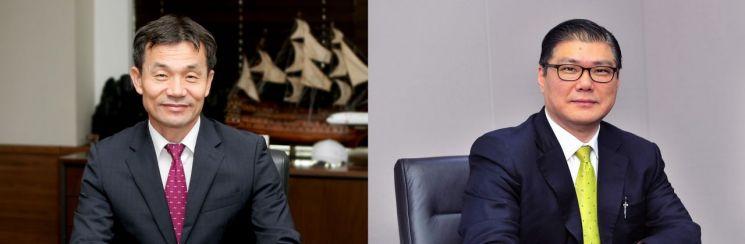 애큐온캐피탈 이중무(왼쪽)·애큐온저축은행 이호근 대표