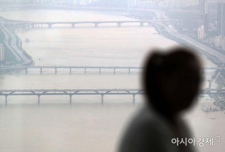 [포토]탁한 한강