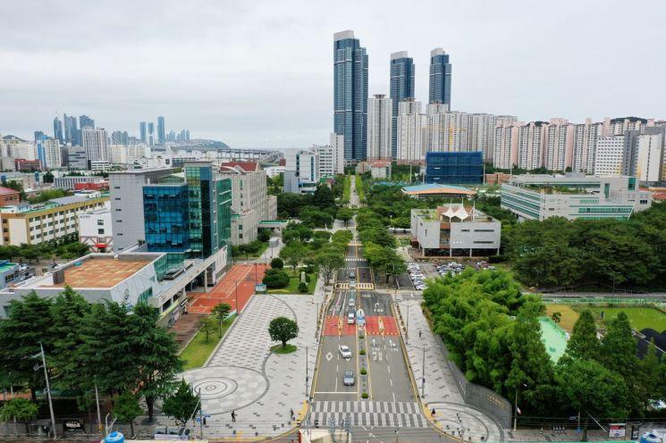 부산 부경대 캠퍼스.