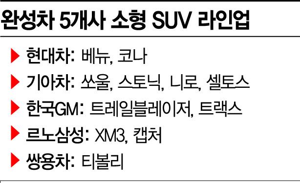 대형시장 된 소형SUV…'年 25만대' 향해 뛴다