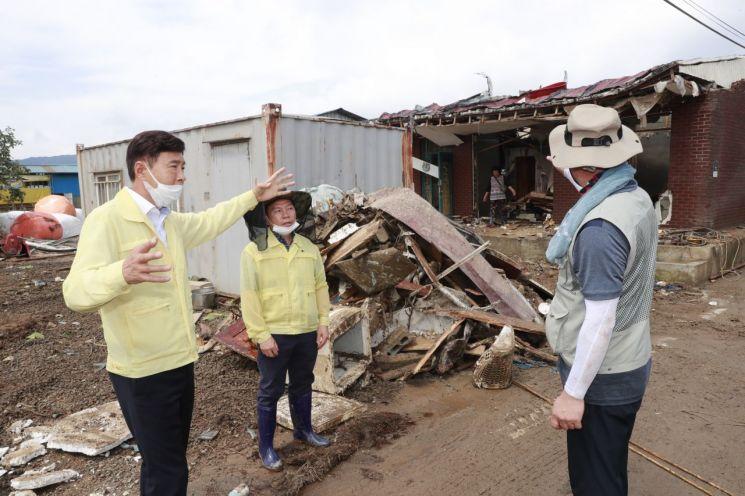 보성군, 역대급 폭우 피해 입은 구례군 수해 복구 동참