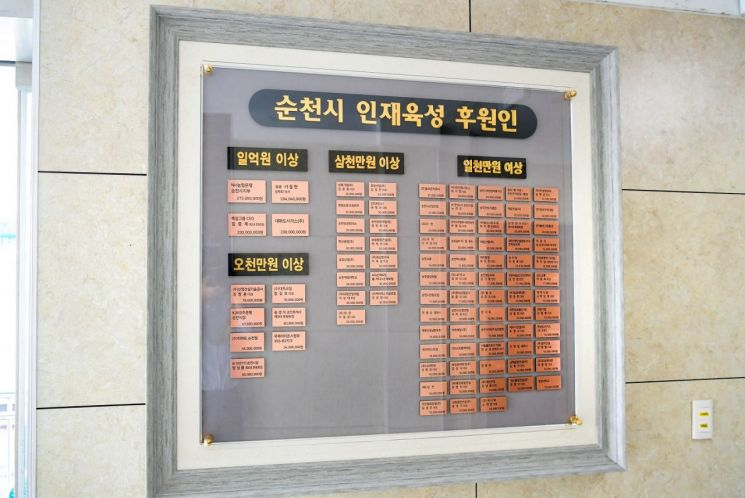 (재)순천시인재육성장학회, 올해 장학생 모집·선발