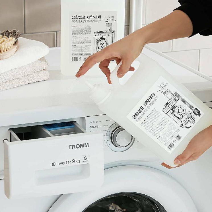 생활쉼표 '세탁세제'. 사진=생활쉼표 인스타그램