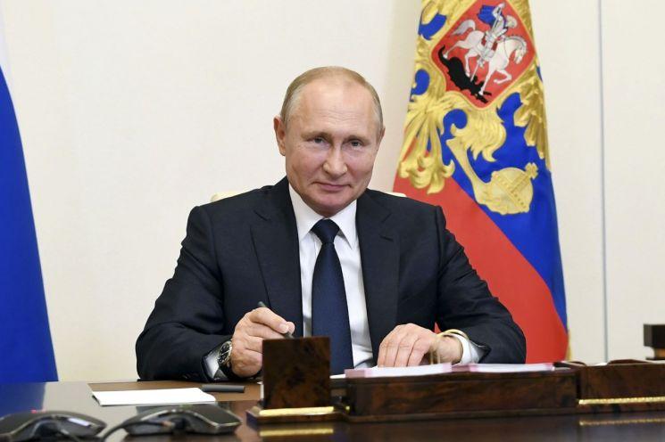 블라디미르 푸틴 러시아 대통령 [이미지출처=연합뉴스]
