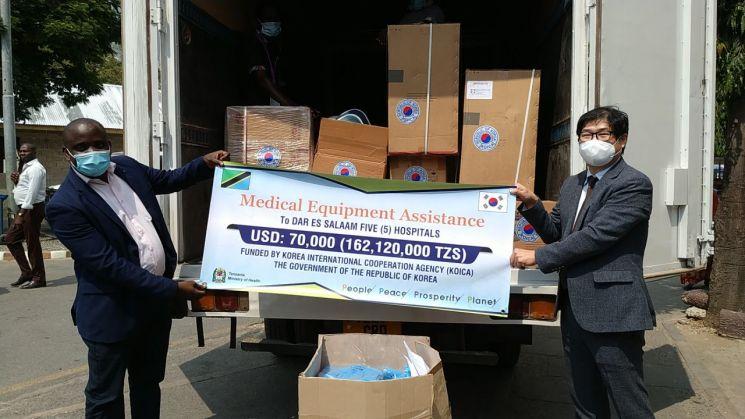 코이카, 탄자니아 5개 국립병원에 7만 달러 규모 응급치료장비 지원