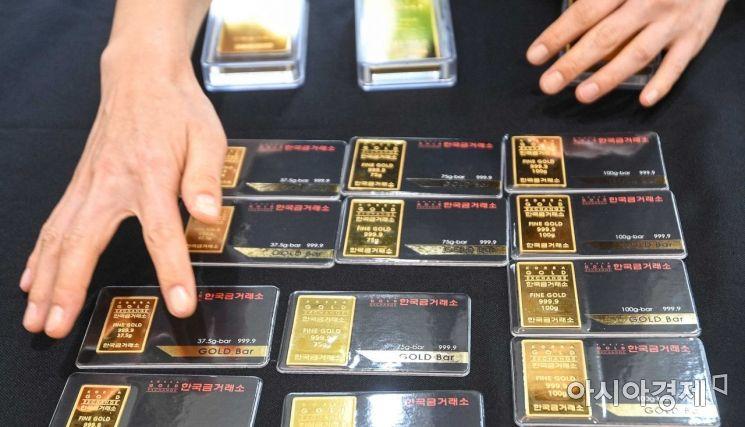 [포토]국제 금값 7년 만에 최대 하락, 2천 달러선 붕괴