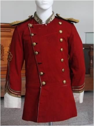 헌병 부위 예복 및 상복(홍철유)