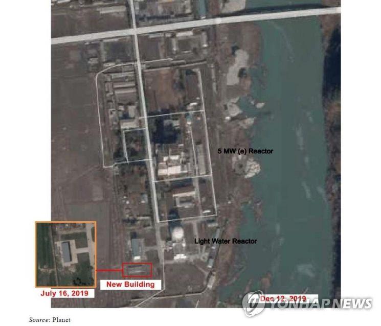 북한 영변의 5MW 원자로 및 경수로. /유엔 안보리 대북제재위 보고서 캡처