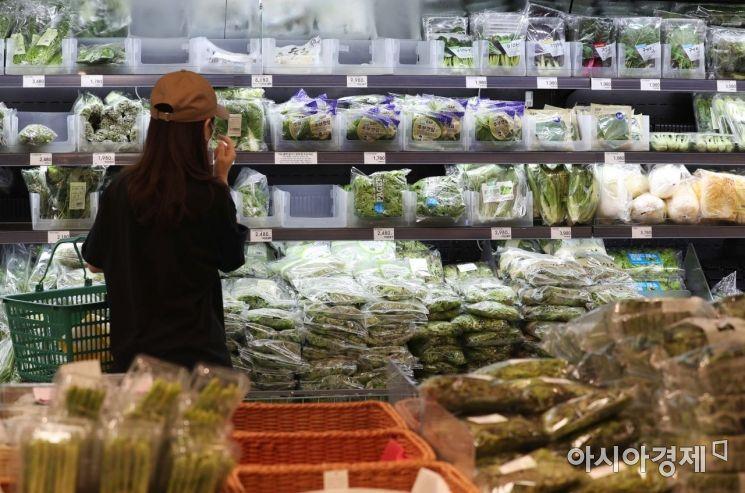 [포토]장마에 채소류 가격 상승