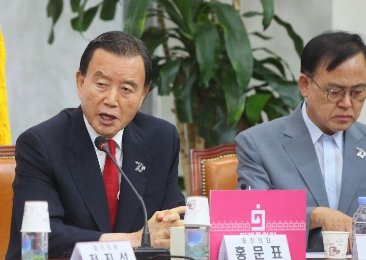 홍문표 국민의힘 의원 [이미지출처=연합뉴스]