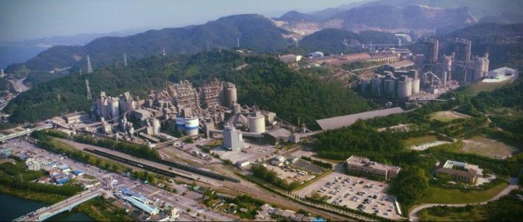 삼표시멘트 삼척 공장 전경. [사진=삼표그룹]