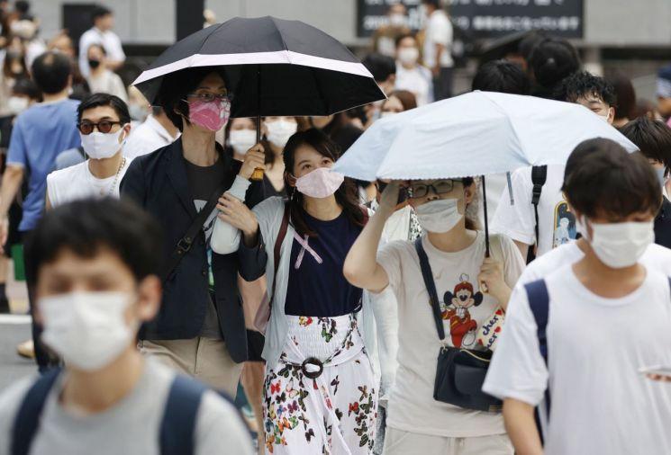 지난 8월 일본 도쿄도 시부야구의 모습 (사진=연합뉴스)