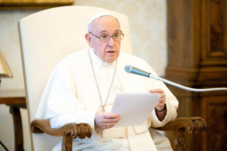 프란치스코 교황 [이미지출처=EPA연합뉴스]