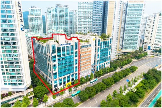한미금융그룹, 상업·업무용 부동산 분당 정자 폴라리스 1층 상가 매각