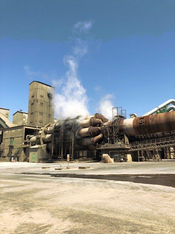 친환경 설비로 바뀌기 전의 시멘트 공장 모습. [사진=아시아경제DB]