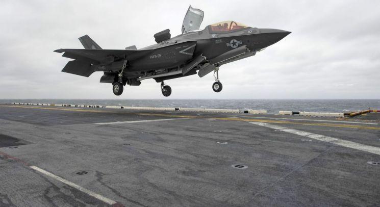 미 해군이 운용중인 F-35B