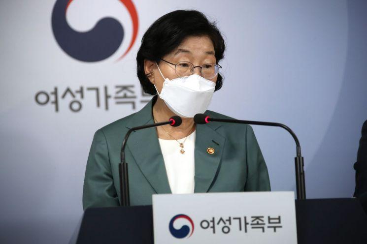 이정옥 여성가족부 장관 [이미지출처=연합뉴스]