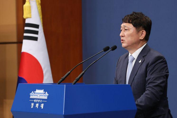 최재성 청와대 정무수석. [이미지출처=연합뉴스]