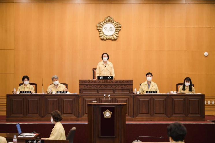 광진구의회, 227억 규모 제3차 추경예산안 원안가결
