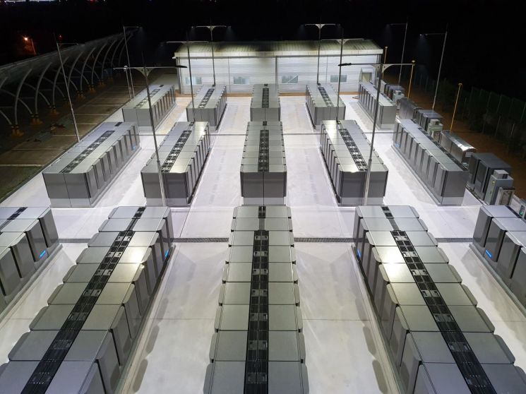 SK건설이 시공한 경기 파주시 월롱면 파주연료전지 발전소 전경 (제공=SK건설)