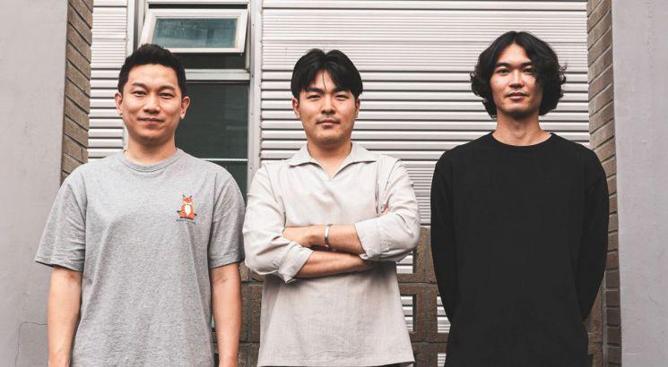 왼쪽부터 임석범 CTO, 허경석 CEO, 박성수 COO