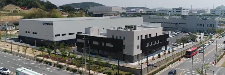 충북 청주 유진테크놀로지 전경